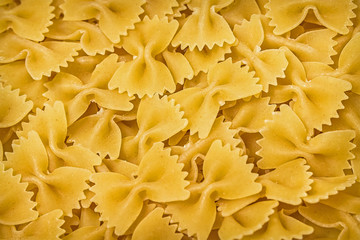 Pasta on a background.