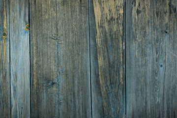 blue old wooden texture
