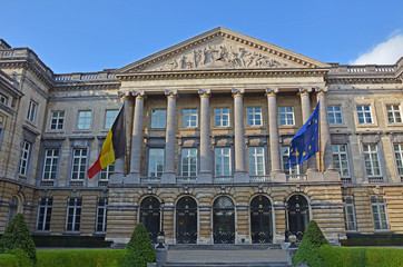 Brüssel, Belgische Abgeordnetenkammer