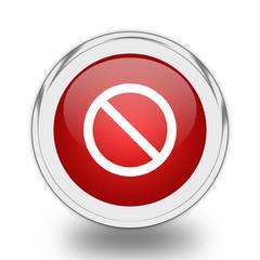 Access denied icon.