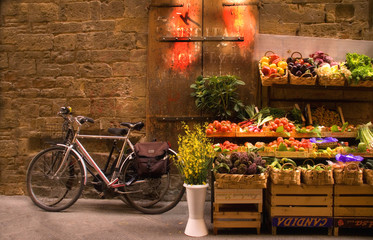 In de dag Fiets Florence Market