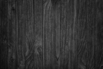 Old black wooden background.Blackboard.  gloomy wood texture