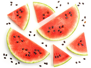 pieces of watermelon