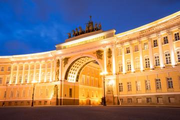 Generalstabsgebäude der Eremitage in Sankt Petersburg