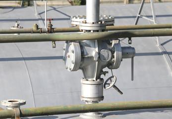 Huge valve over the Big Gas cylinder