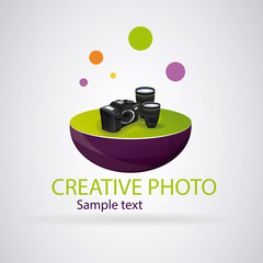 Logo modern photography