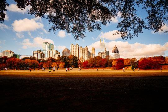 Fall in Atlanta