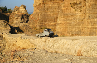 Brown Canyon is located in Central Java, Indonesia