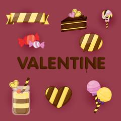 Valentines day gift card design.valentines stuff.