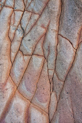 Interesting rock pattern texture background