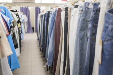 Men's Jeans and T-Shirts