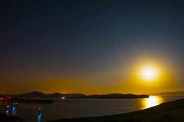 Clear night in Capo Caccia