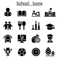 School & Education icons