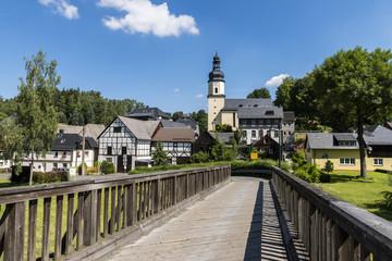 Bridge Sparnberg Saale