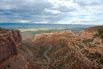 Colorado National Monument and Mountain Road