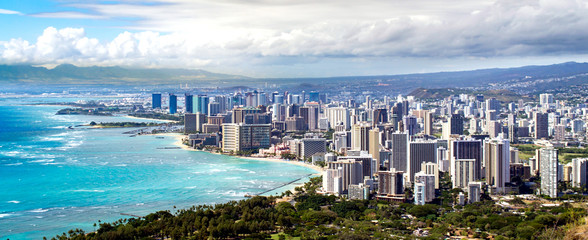 Honolulu Coastline