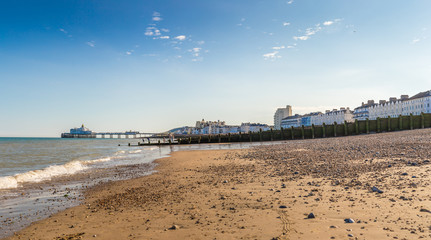 Eastbourne at summer, english seaside