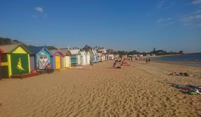 brighton beach australie melbourne