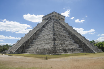 Castle of Kukulcan, Chichen Itza, Mexico