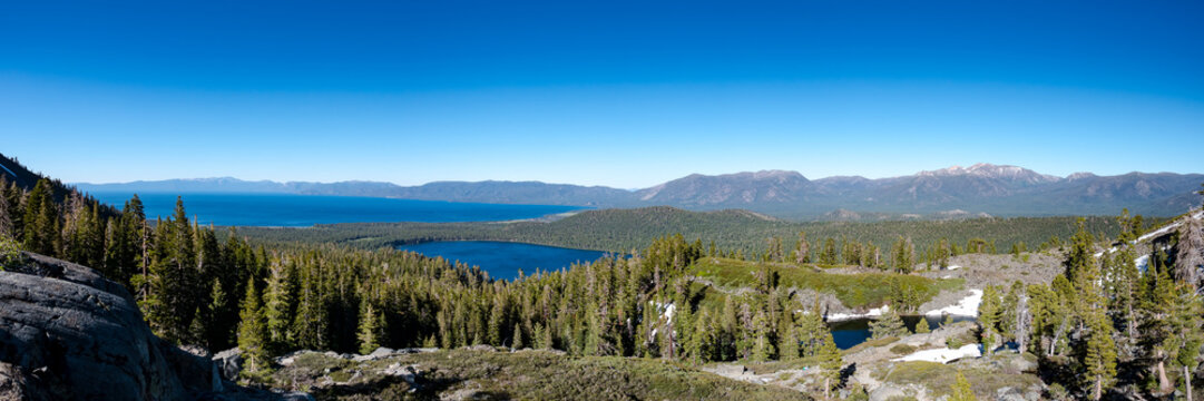 Mount Tallac, Lake Tahoe, California, June 2017