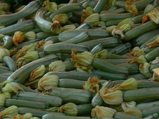 gemüse, zucchini, essen