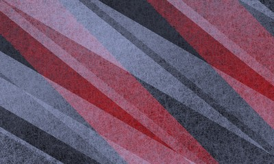 black white and red background of diagonal striped lines in transparent layers with detailed texture in contemporary modern art style design