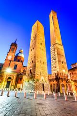 Fototapete - Bologna, Emilia-Romagna - Italy - Due Torri