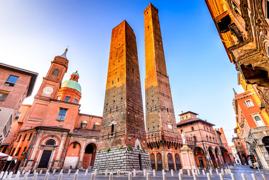 Bologna, Emilia-Romagna - Italy - Due Torri