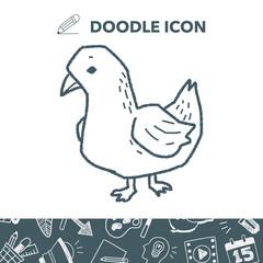 dove doodle