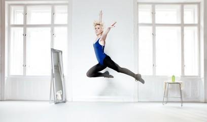 Dancer flying