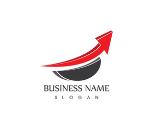 Business Finance Arrow Logo