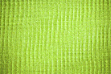 Green fabric texture./Green fabric texture