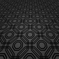 Modern vector dark pattern. Geometric abstract texture. Graphic geometric background
