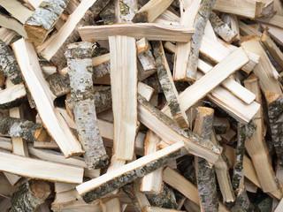 Anzündholz - Feuer machen - Brennmaterial