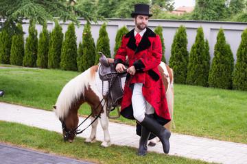 Gentleman and his pony