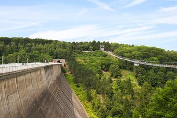 Rappbode Talsperre, Hängebrücke