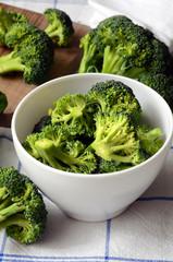 Bunch of fresh green broccoli
