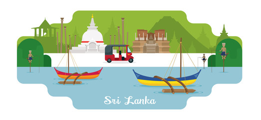 Sri Lanka Travel and Attraction Landmarks