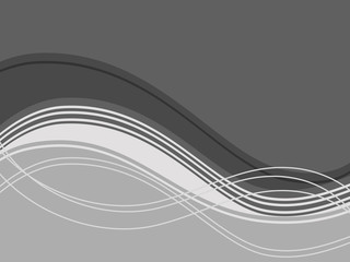 abstract waves background