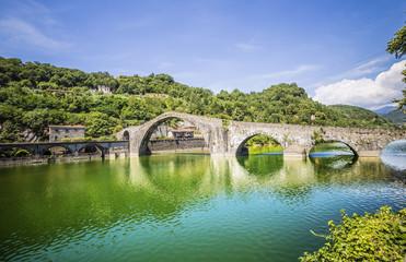 Borgo a Mozzano bridge, Italy