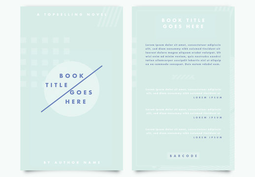 Abstract Teal Ebook Cover Layout 1