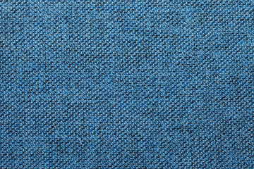 Blue and black fabric texture or background