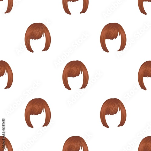 Squareck Hairstyle Single Icon In Cartoon Style Vector Symbol