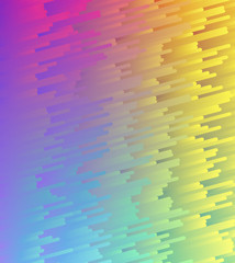 Color gradient abstract pattern