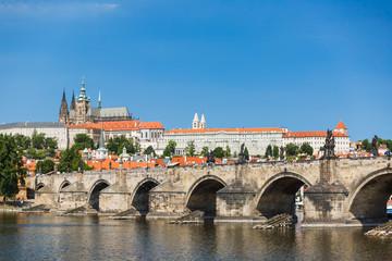 Charles Bridge and Prague Castle (Hrad Praha)