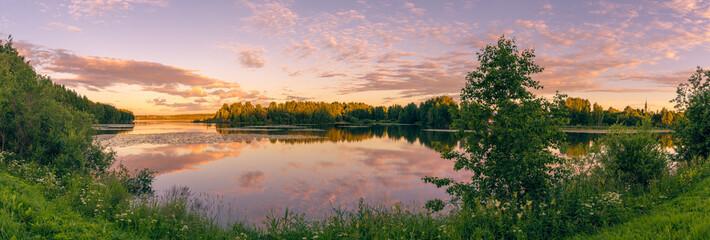 Keuken foto achterwand Zalm Nordic landscape