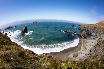Northern California Coastline in Sonoma