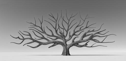 Conceptual stylized tree.
