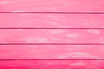 Pink red colored wood background, abstract wood background for design