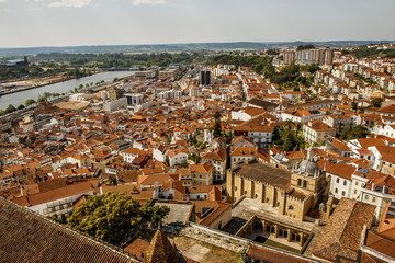 Coimbra lá do alto da Torre
